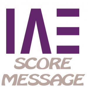 IAE SCORE MESSAGE