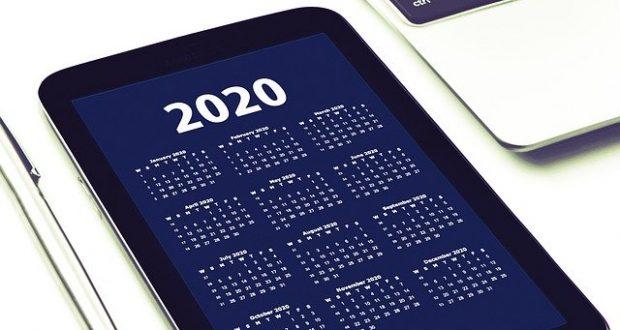 jours fériés 2020