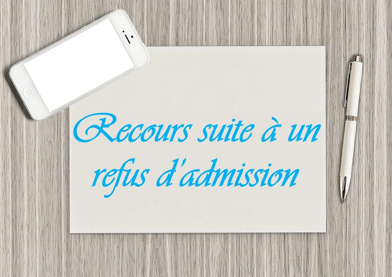 Exemple De Recours Suite A Un Refus D Admission Etudes En France